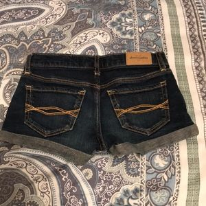 Girls shorty shorts by Ambercrombie